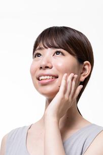 日本人女性のビューティーイメージの写真素材 [FYI01686558]