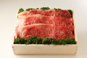 牛肉詰め合わせの写真素材 [FYI01686942]