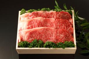 牛肉詰め合わせの写真素材 [FYI01687050]
