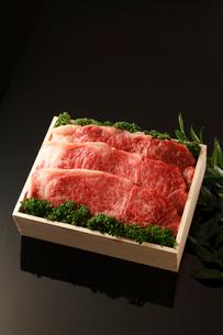 牛肉詰め合わせの写真素材 [FYI01687175]