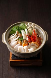 海鮮鍋の写真素材 [FYI01687183]