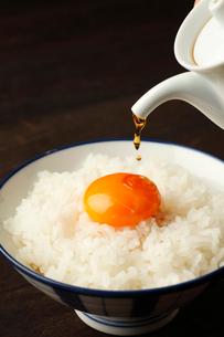卵ごはんたれかけの写真素材 [FYI01687267]