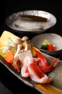 金目鯛の寄せ鍋の写真素材 [FYI01687276]