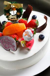 クリスマスケーキの写真素材 [FYI01687501]