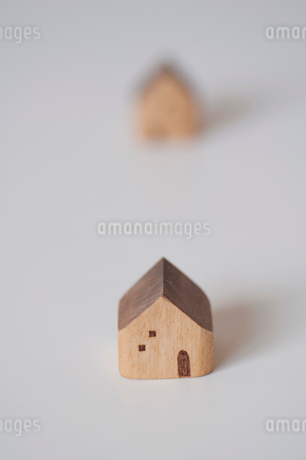 積み木の家の写真素材 [FYI01687552]