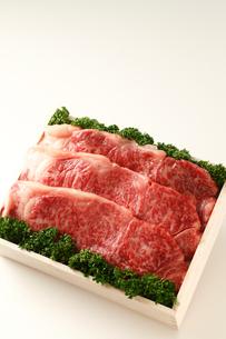 牛肉詰め合わせの写真素材 [FYI01687614]