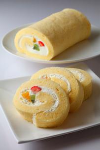 ロールケーキの写真素材 [FYI01687744]