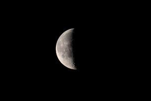 月齢22の月の写真素材 [FYI01687967]