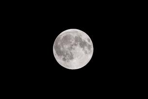 月齢15の月の写真素材 [FYI01688005]