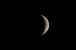 月齢5の月の写真素材 [FYI01688086]