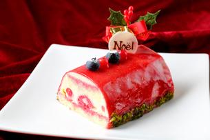 クリスマスケーキの写真素材 [FYI01688173]
