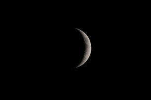 月齢4の月の写真素材 [FYI01688181]