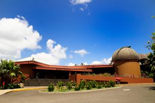 ビショップ博物館全景 オアフ島の写真素材 [FYI01688241]