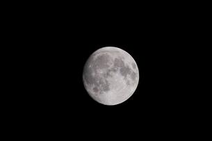 月齢14の月の写真素材 [FYI01688469]