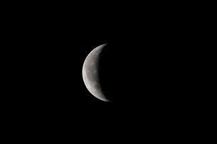 月齢24の月の写真素材 [FYI01688475]