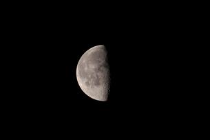 月齢20の月の写真素材 [FYI01688512]