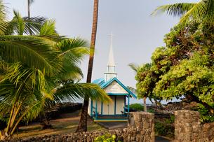 セントピータース教会 ハワイ島の写真素材 [FYI01688538]