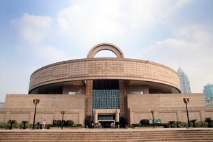上海博物館の天円地方を模した概観 中国の写真素材 [FYI01688543]