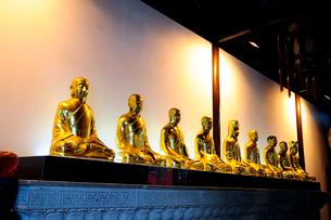 金色の仏像 中国の写真素材 [FYI01688662]