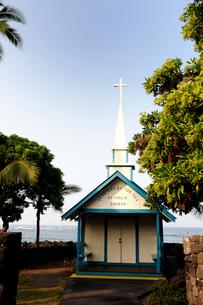 セントピータース教会 ハワイ島の写真素材 [FYI01688859]