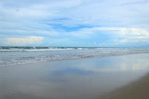 カブレの海岸の砂浜の写真素材 [FYI01688931]