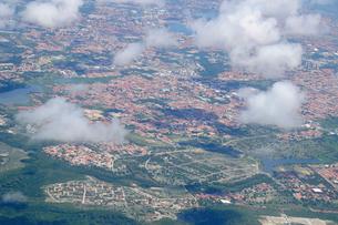 空から見た街並みの写真素材 [FYI01688975]