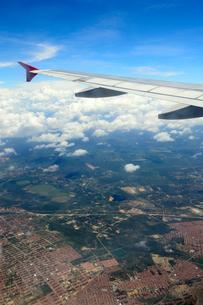 空から見た街並みの写真素材 [FYI01689107]
