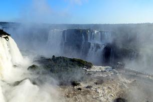 イグアスの滝の写真素材 [FYI01689397]