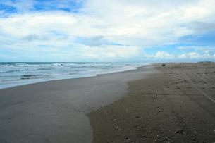 カブレの海岸の砂浜の写真素材 [FYI01689576]
