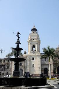 アルマス広場とカテドラルの写真素材 [FYI01689596]