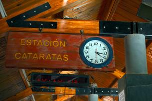 トロッコ列車の駅舎の写真素材 [FYI01689610]