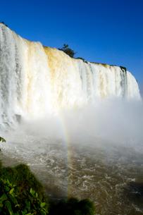 イグアスの滝悪魔ののど笛の写真素材 [FYI01689883]