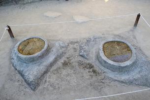 マチュピチュ遺跡の天体観測の石の写真素材 [FYI01690010]