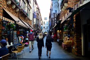 パース市街のショッピングアーケードの写真素材 [FYI01690158]