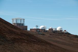 ハレアカラ国立公園の天文台の写真素材 [FYI01690579]