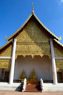 寺院のワット・チェディ・ルアンの写真素材 [FYI01691138]