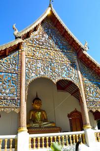寺院のワット・チェン・マンの写真素材 [FYI01691209]
