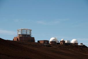 ハレアカラ国立公園の天文台の写真素材 [FYI01691229]