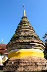 寺院のワット・フア・クアンの塔の写真素材 [FYI01691315]