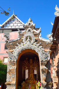 寺院のワット・ローク・モーリーの写真素材 [FYI01691385]