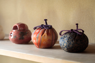 水屋の茶道具の写真素材 [FYI01691665]