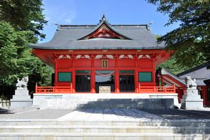 赤城神社の写真素材 [FYI01691744]