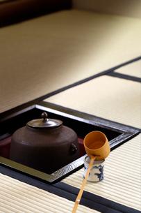 茶室の写真素材 [FYI01691945]