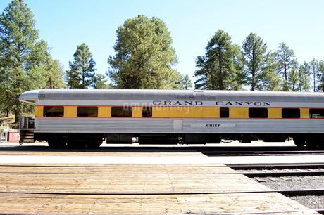 グランドキャニオン鉄道の車両の写真素材 [FYI01691967]