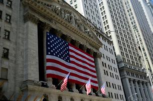 マンハッタンのニューヨーク証券取引所の写真素材 [FYI01692206]