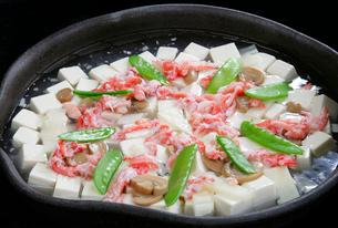 蟹と豆腐のあんかけの写真素材 [FYI01692267]