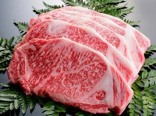霜降り牛肉の写真素材 [FYI01692311]