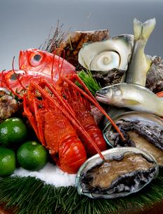 高級海鮮食材イメージの写真素材 [FYI01692406]