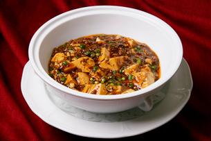中華料理、麻婆ドーフ、の写真素材 [FYI01692489]