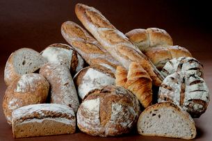 パンの集合の写真素材 [FYI01692500]